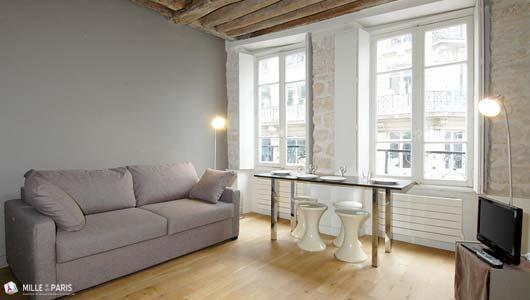 Location Saisonnière Vacances à Paris Montorgueil Appartement Rue