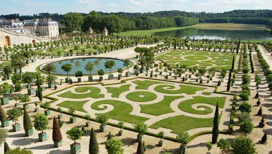 Visita guiada del palacio de versalles for Jardines barrocos